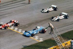 Jacky Ickx, Ferrari 312B2, Chris Amon, Matra MS120B, Jo Siffert, BRM P160, Howden Ganley, BRM P160