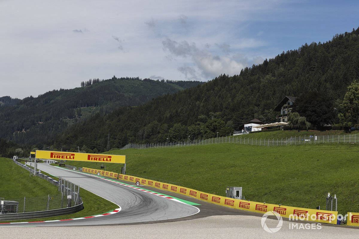 Vista general del Red Bull Ring