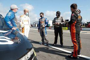 Brett Moffitt, GMS Racing, Chevrolet Silverado Chevy Cares and Tyler Ankrum, GMS Racing, Chevrolet Silverado Liuna!