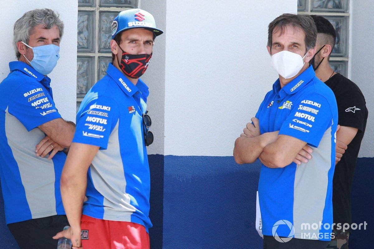 Alex Rins, Team Suzuki MotoGP, Davide Brivio