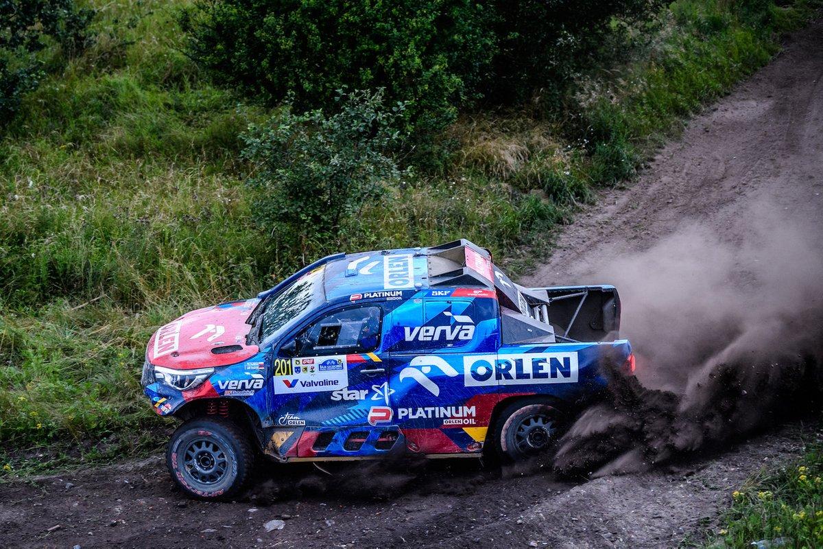 Kuba Przygoński, Timo Gottschalk, Toyota Hilux