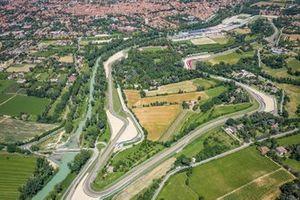 Vista aérea del circuito de Imola