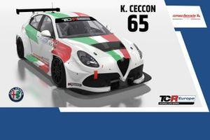 Kevin Ceccon, Romeo Ferraris, Alfa Romeo Giulietta Veloce