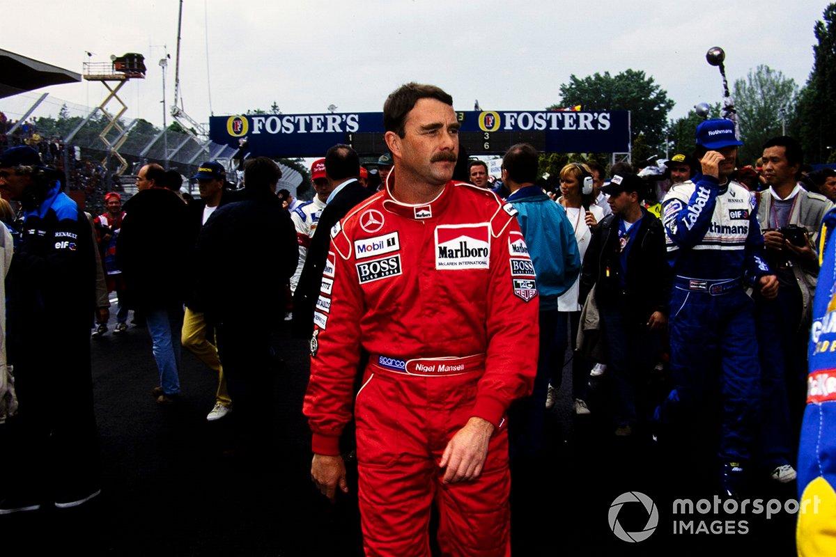Nigel Mansell zu McLaren (1995)