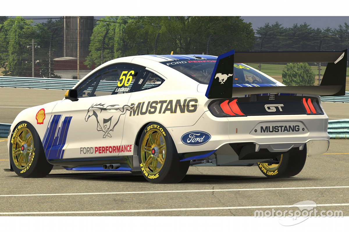 Joey Logano, Ford Mustang