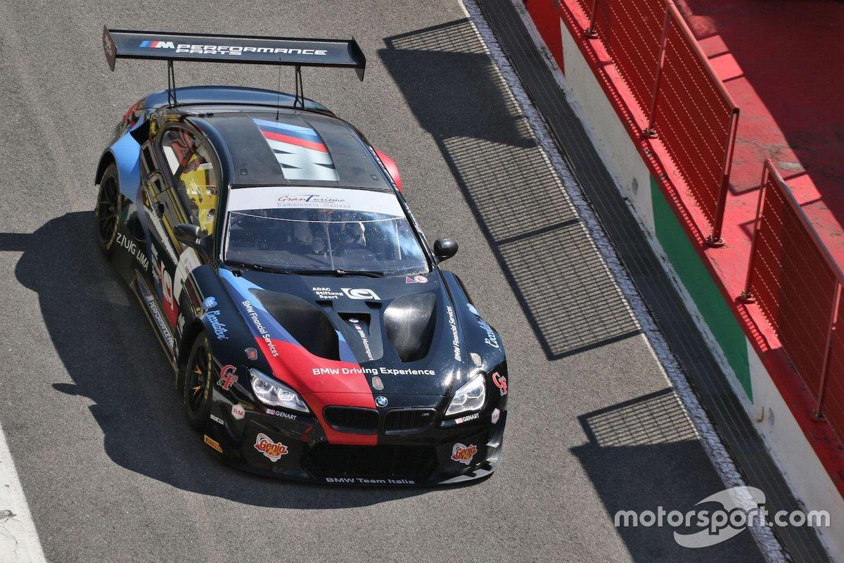 Comandini Stefano, Zug Marius, Sims Alexander, BMW M6 GT3 #7, BMW Team Italia