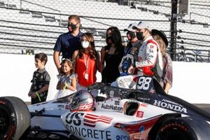 Marco Andretti, Andretti Herta with Marco & Curb-Agajanian Honda with Michael Andretti and family