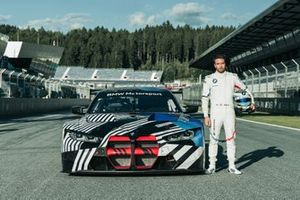 Philipp Eng with the BMW M4 GT3