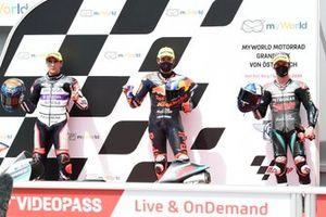 Albert Arenas, Aspar Team, Raul Fernandez, Red Bull KTM Ajo John McPhee, SIC Racing Team