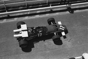Jacky Ickx, Ferrari 312B, GP del Sud Africa del 1970