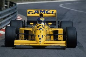 Derek Warwick, Lotus 102 Lamborghini, al GP di Monaco del 1990