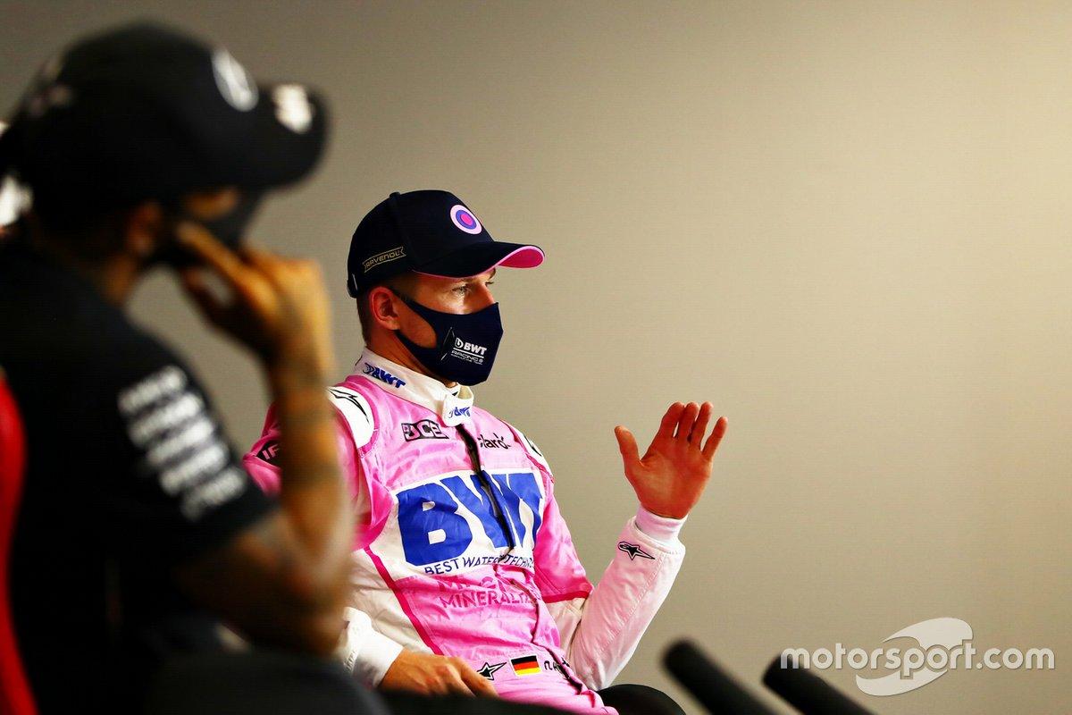 Nico Hulkenberg, Racing Point, Lewis Hamilton, Mercedes AMG F1