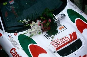Winners car of Juha Kankkunen, Denis Giraudet, Toyota Celica Turbo 4WD