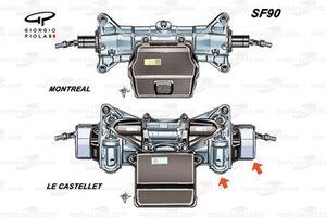 Ferrari SF90 front detail