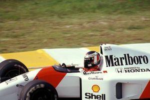 Gerhard Berger, McLaren MP4-7A Honda