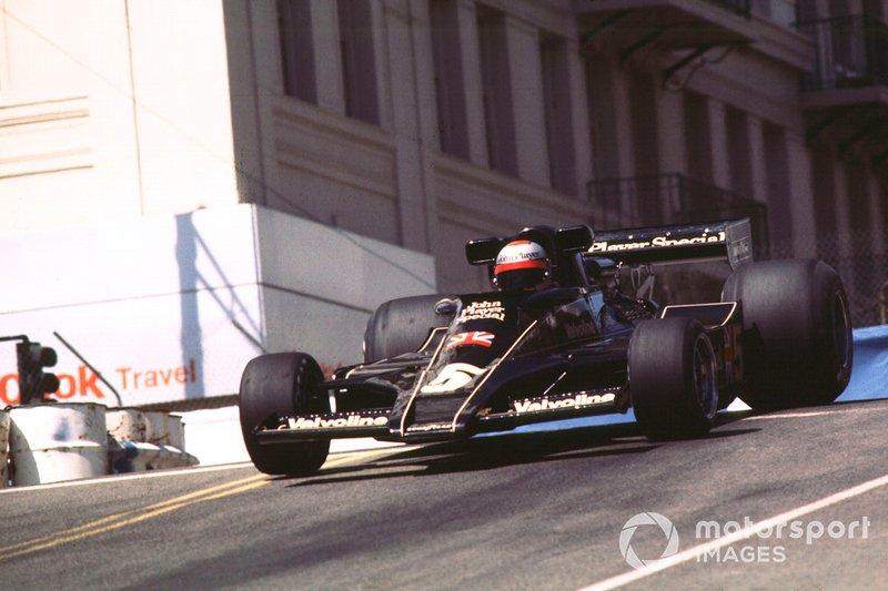 Mario Andretti, 1 ocasión ganador del GP de los Estados Unidos