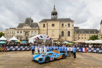 #10 Dragonspeed BR Engineering BR1: Henrik Hedman, Ben Hanley, Renger Van der Zande, James Allen
