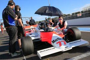 Une McLaren MP4/1 au Grand Prix de France Historique