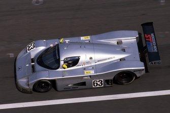Jochen Mass, Manuel Reuter, Stanley Dickens, Sauber Mercedes C9
