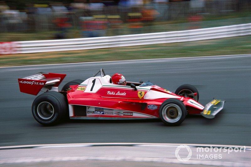 1976年:ニキ・ラウダ(フェラーリ)