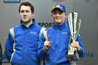 Race winner Billy Monger, Carlin
