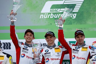 Podium: Winnaar #101 Walkenhorst Motorsport BMW M6 GT3: Christian Krognes, David Pittard, Nick Yelloly