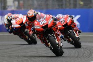Andrea Dovizioso, Ducati Team, Danilo Petrucci, Ducati Team, Jack Miller, Pramac Racing
