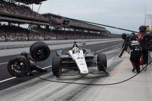 Pit Crew accident, Jordan King, Rahal Letterman Lanigan Racing Honda
