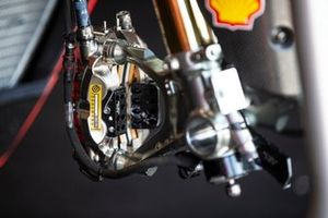 Brembo brake on the bike of Chaz Davies, Aruba.it Racing-Ducati Team