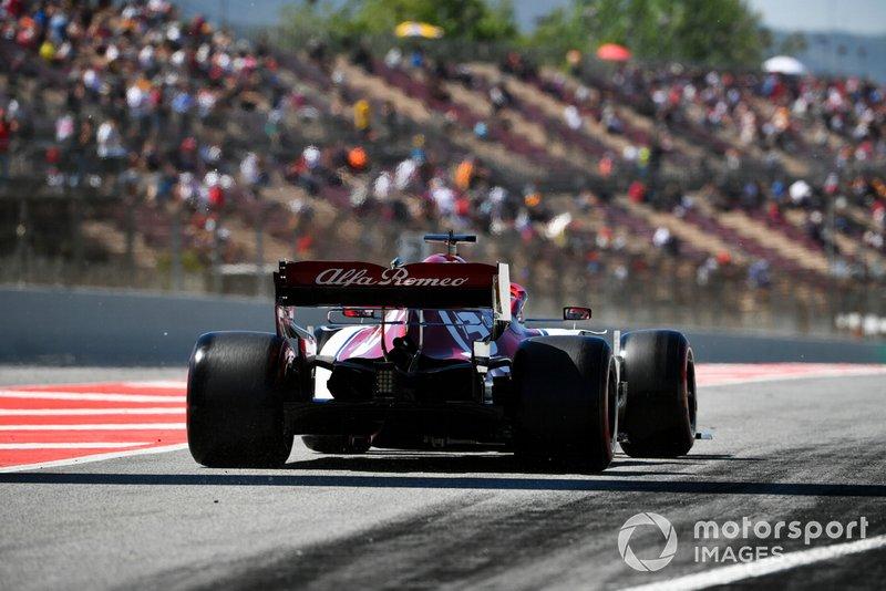 14 місце — Кімі Райкконен, Alfa Romeo. Умовний бал — 7,50
