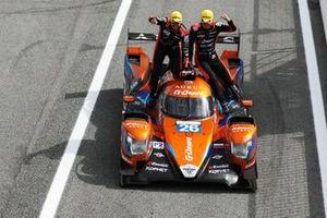 Победители гонки #26 G-Drive Racing Aurus 01 Gibson: Норман Нато, Роман Русинов и Йоб ван Эйтерт