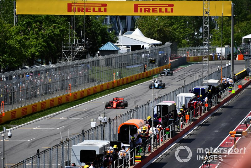 Ferrari сообщила Феттелю о пятисекундном штрафе