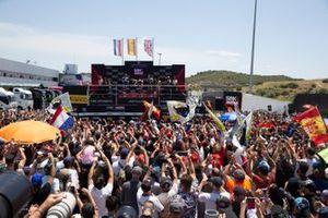 Alvaro Bautista, Aruba.it Racing-Ducati Team and fans