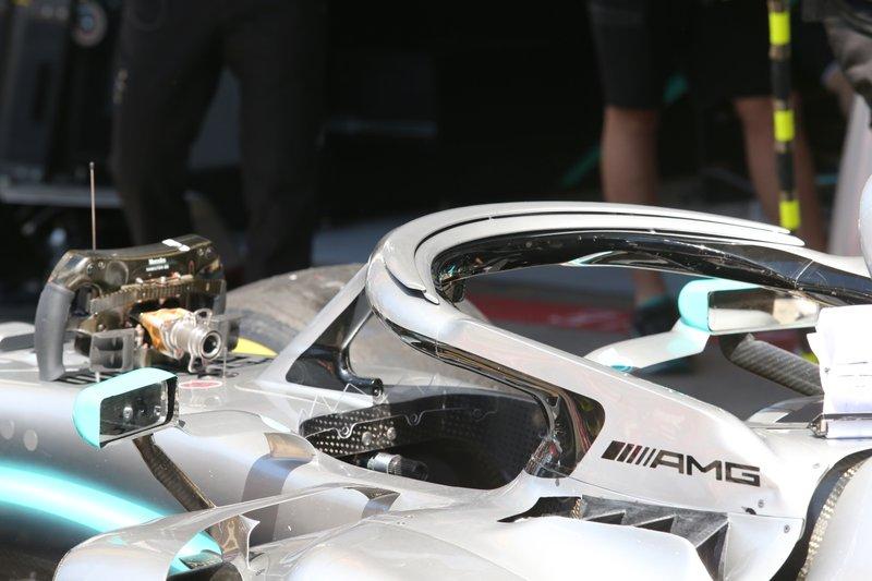 Mercedes F1 AMG W10, raffreddamento