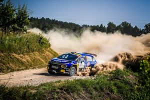 Mattias Adielsson, Andreas Johansson, Citroen C3 R5, FIA ERC, Rally Poland