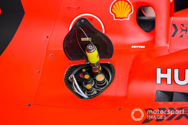 Ferrari SF90 Fuel Filler