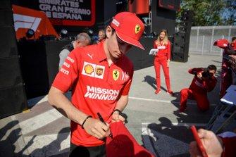 Шарль Леклер, Ferrari