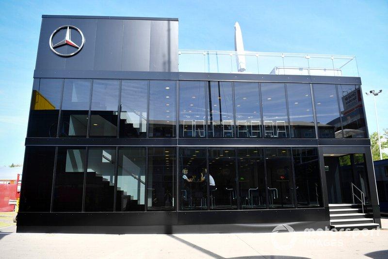 Le motorhome Mercedes
