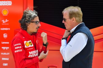 Laurent Mekies, Ferrari and Danny Sullivan, FIA Steward