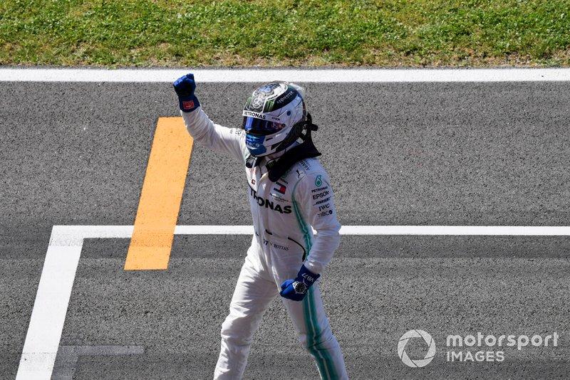 Валттери Боттас завоевал девятую поул-позицию в карьере. На настоящий момент он единственный гонщик с таким количеством поулов на счету – но еще 33 пилота выигрывали квалификацию чаще финна