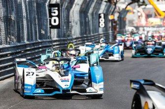 Alexander Sims, BMW I Andretti Motorsports, BMW iFE.18 Oliver Turvey, NIO Formula E Team, NIO Sport 004