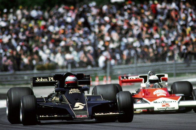 1977 Mario Andretti, Lotus 78