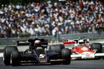 Mario Andretti, Lotus 78, Jochen Mass, McLaren M23
