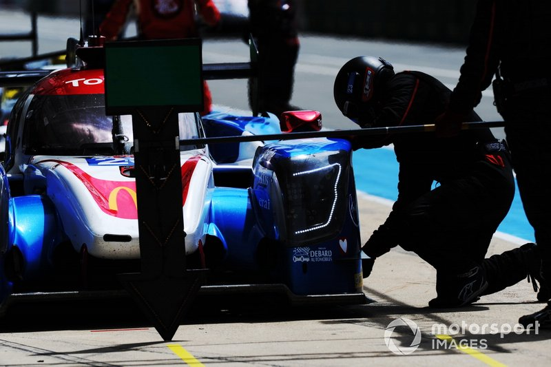 #23 Panis Barthez Racing Ligier JSP217: Rene Binder, Julien Canal, Mathias Beche