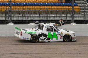 Ross Chastain, Niece Motorsports, Chevrolet Silverado TruNorth/Paul Jr. Designs checkered flag