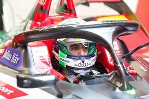 Lucas Di Grassi, Audi Sport ABT Schaeffler, au garage