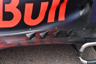 Red Bull Racing RB15 floor detail