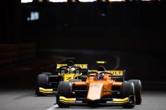 Guanyu Zhou, UNI Virtuosi Racing et Jack Aitken, Campos Racing