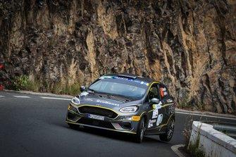 Franceschi Jean-Baptiste, Gorguilo Anthony, Ford Fiesta R2T, FIA ERC, Rally Islas Canarias