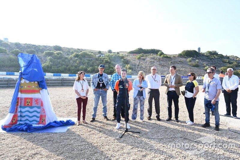 Inauguración curva Dani Pedrosa en Circuito de Jerez